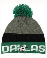 Reebok Dallas Stars Pom Knit Hat