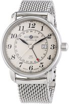 Zeppelin Men's Quartz Watch LZ127 Graf 7642M5 with Metal Strap