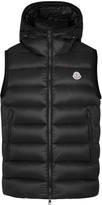 Moncler Ray Black Quilted Shell Gilet