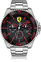 Ferrari XX Kers Silver and Red Stainless Steel Men's Watch