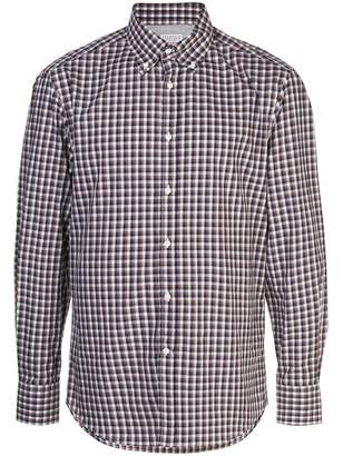 Brunello Cucinelli checked shirt
