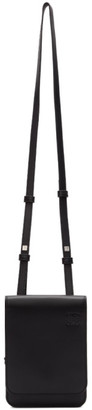 Loewe Black Gusset Flat Crossbody Bag