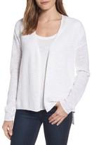 Eileen Fisher Women's V-Neck Organic Linen & Cotton Cardigan