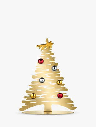 Alessi Bark Christmas Tree Ornament, Gold