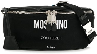 Moschino Couture! logo belt bag