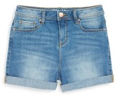 Girl's Maddie Roll Cuff Denim Shorts