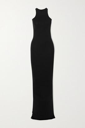 Rick Owens Abito Cotton-jersey Maxi Dress