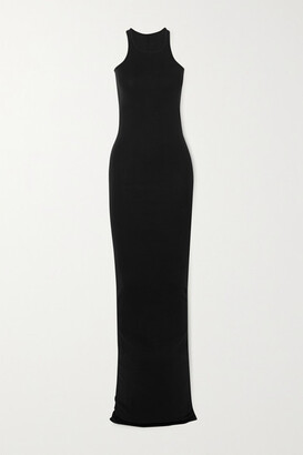 Rick Owens Abito Cotton-jersey Maxi Dress
