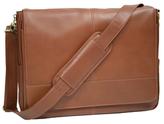 "Royce Leather Executive 15"" Laptop Messenger Bag"