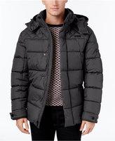 Ben Sherman Men's Quilted Puffer Coat