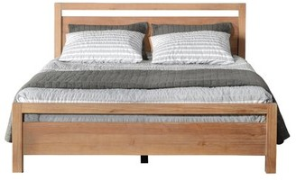 Grain Wood Furniture Loft Queen Platform Bed Grain Wood Furniture Color: Acacia