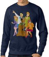 Tengfeilug Scooby Doo Graphic Hooded Sweatshirts For Adult