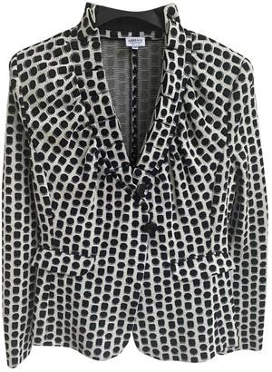 Armani Collezioni White Cotton Jacket for Women
