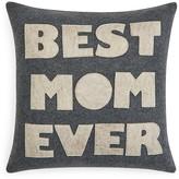 "Alexandra Ferguson Best Mom Ever Decorative Pillow, 16"" x 16"""