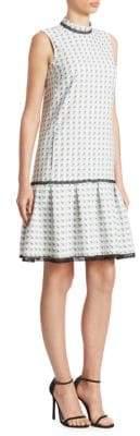 Erdem Nena Flounce Dress