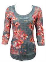 David Cline Crinkle Poppy Shirt