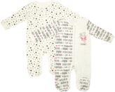 Cutie Pie Baby Black & White Inspirational Footie Set - Infant