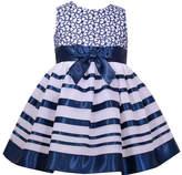 Bonnie Jean Sleeveless Ribbon Bow Dress - Baby Girls