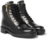 Balmain Army Ranger Leather Boots