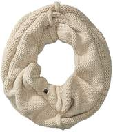 Plush Fleece-Lined Chunky Knit Neck Warmer Scarves