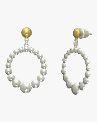 Gurhan Graduated Mini Lentil Open Earrings