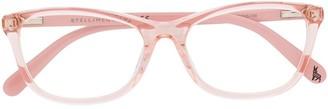 Stella McCartney Rectangular Frame Glasses