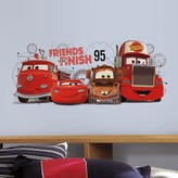 Roommates Disney / Pixar Cars 2 Friends to the Finish Peel & Stick Wall Decals