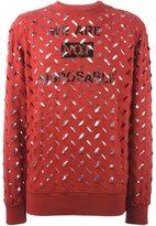 Vivienne Westwood perforated sweatshirt