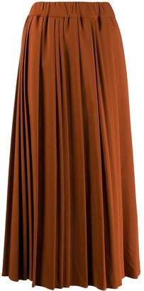 Altea pleated maxi skirt