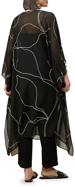 Thumbnail for your product : Lafayette 148 New York Maeve Printed Caftan