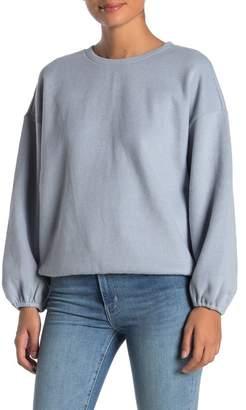 Elodie K Rib Knit Crew Neck Sweater