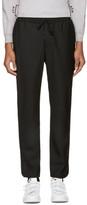 Public School Black Wool Ilyn Track Pants