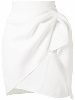 Maticevski Draped Mini Skirt