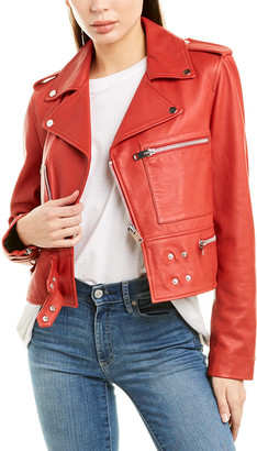 Walter Baker Terrie Leather Jacket