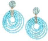 BaubleBar Women's Clover Drop Earrings