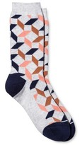 Pair of Thieves Women's Pair of Thieves Casual Crew Sock - Heather Pink/Copper 4-10