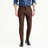 J.Crew Ludlow suit pant in herringbone windowpane English wool