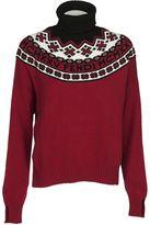 Fendi Turtle Neck Ribbed Sweater