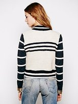 Free People Broad Street Sweater Jacket