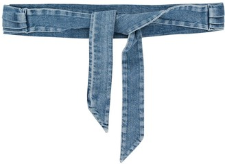 Philosophy di Lorenzo Serafini Denim Tie Waist Belt
