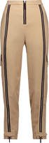 Belstaff Woodacomb embellished crepe tapered pants