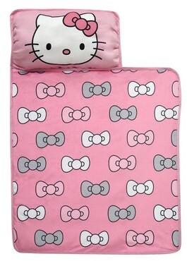 """Lambs & Ivy Hello Kitty Bows Nap 0.5"""" Crib Mattress"""