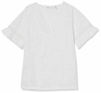 Rafaella Women's All Over Puff Print Short Sleeve Top