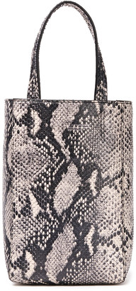 IRO Broome Snake-effect Leather Tote