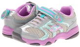 Stride Rite Made to Play Sterling (Toddler/Little Kid) (Grey/Purple/Turquoise) - Footwear