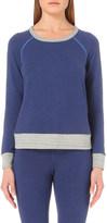 Sundry Crewneck cotton-blend sweatshirt