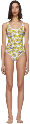 Perks And Mini White Daisies One-Piece Swimsuit