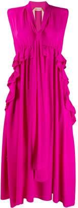 No.21 Asymmetric Hem Dress
