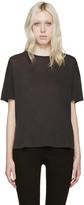 R 13 Black Oversized Classic T-Shirt
