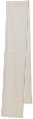 Brunello Cucinelli Embellished cashmere-blend scarf